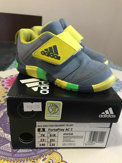 Zapatillas adidas Fortaplay Niño Talle 23.5