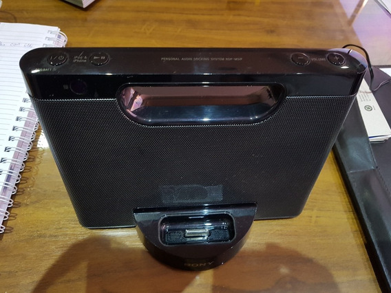 Dock Station System Sony Para iPhone 4, iPod Rdf-m5ip