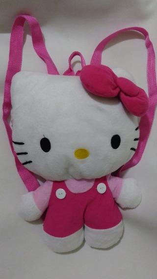 Mochila Original Hello Kitty Mide 39 Cm Marca Sanrio 2014