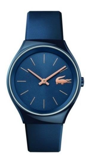 Relógio Lacoste Feminino Borracha Azul - 2000951