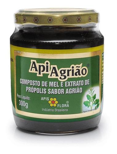 Apiagrião Mel Com Própolis Agrião 300 G - Apis Flora