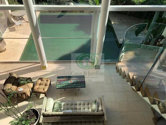 Casa Morro Santa Teresinha - 5 Dormitórios À Venda, 720 M² Por R$ 4.700.000 - Santos/sp - Ca0727