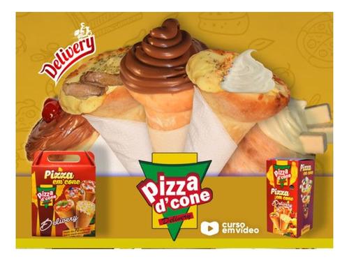 Imagem 1 de 3 de Curso Pizza Cone - Monte Seu Delivery