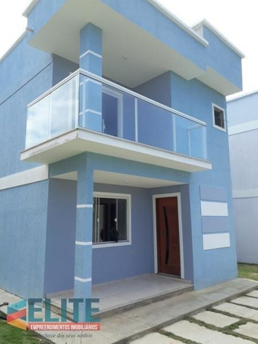 Casa Para Venda Em Saquarema, Barra Nova, 3 Dormitórios, 2 Suítes, 1 Banheiro - E059_2-601441