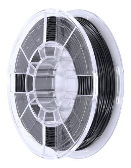 Filamento Pla 1,75 Mm 1,75mm 250g Preto Para Impressora 3d