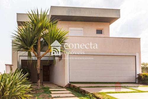 Casa À Venda, 300 M² Por R$ 1.250.000,00 - Condomínio Yucatan - Paulínia/sp - Ca1303