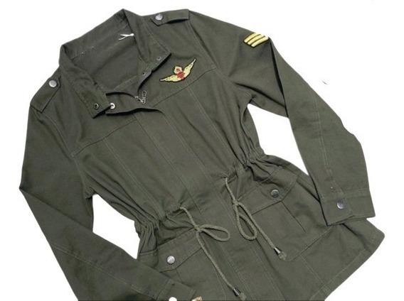 Parka Militar Feminina Casaco Blusa Jaqueta Outono Inverno