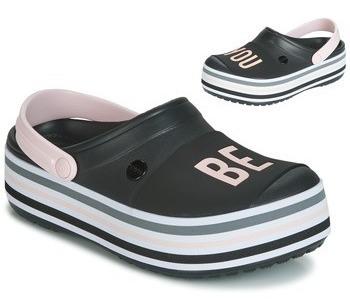 Crocs Platform Bold Clog Black