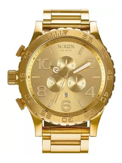 Relógio G0430 Nixon Golden Gold 18k C/ Caixa