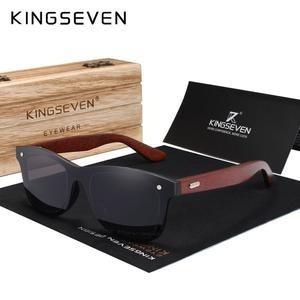 Óculos De Sol Polarizado Kingseven 2019 Vintage Unissex