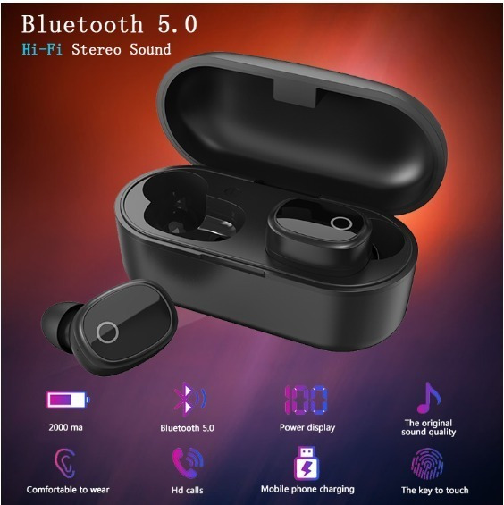 Fone De Ouvido Bluetooth 100% Original 205 Wireless Earphone