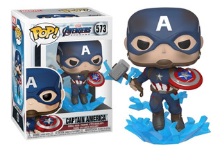 Funko Pop Captain America #573 Marvel Capitan Figura Muñeco