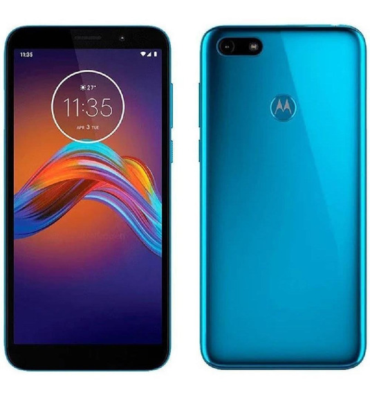 Smartphone Motorola Moto E6 Play Azul Metálico 32gb - Xt2029