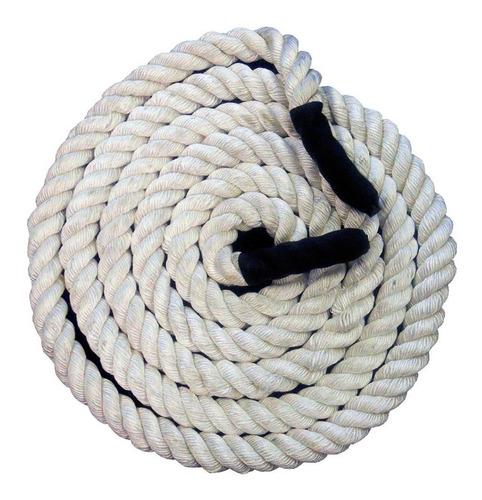 Imagen 1 de 3 de Cuerda De Batalla, Tonifica, Mejora Tu Resistencia Y Corazon
