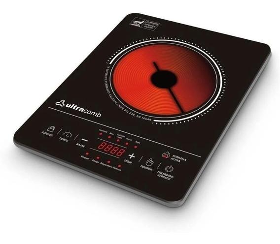 Anafe Vitroceramico Ultracomb Touch 2000w Digital An2211 Cta