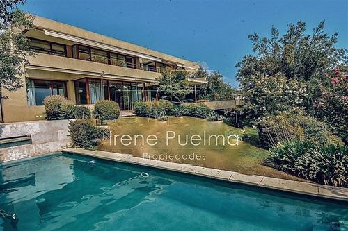 Imagen 1 de 18 de Casa En Venta De 4 Dormitorios, Golf Lomas, Lo Barnechea