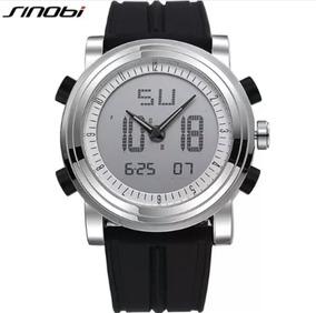 Relógio Sinobi Analógico E Digital