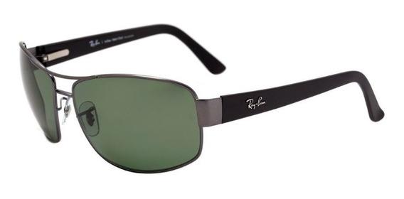Oculos Sol Ray Ban Rb3503l 041/9a 66mm Grafite Polarizado