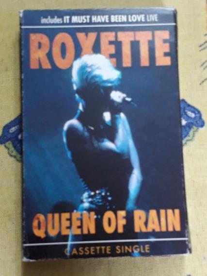 Roxette Cassette Single Queen Of The Rain + 1cassette Regalo
