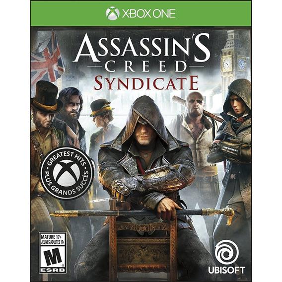 Assassins Creed Syndicate Xbox One Mídia Física Novo Pt Br