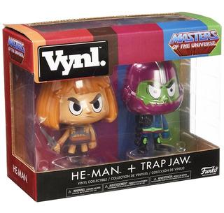 Funko Vynl Heman And Trapjaw Funko Pop He-man Motu