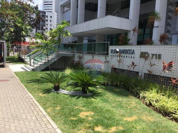 Sala Para Alugar, 43 M² Por R$ 2.500,00/mês - Graças - Recife/pe - Sa0050