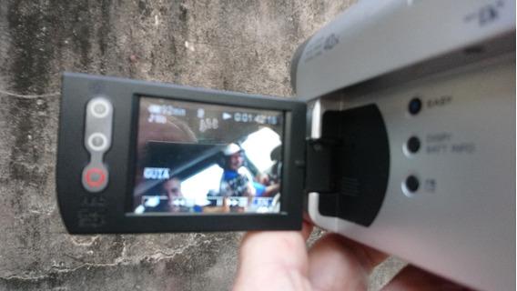 Câmera Sony Gravadora De Video Digital (lente Como Brinde)
