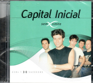 Cd Capital Inicial - Série Sem Limite Cd Duplo 30 Sucessos