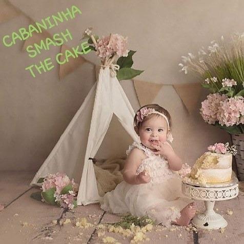 Mini Cabana Acessórios Fotográficos Newborn E Acompanhamento