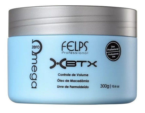 Felps Botox Organico Omega Zero - Redutor De Volume 300g