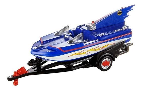 Miniatura Barco Batboat 1966 Batman Série 2 1:50 Hot Wheels
