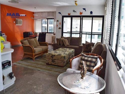 Imagem 1 de 16 de Apartamento Residencial À Venda, Barra Funda, Guarujá - . - Ap8975