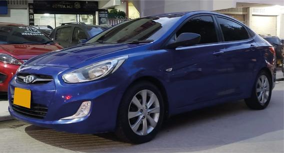 Lm Autos Vende Hyundai Accent Gl I 25 Modelo 2013, Mec.