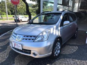 Nissan Grand Livina 1.8 Sl Flex Aut. Prata 2012
