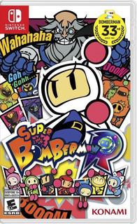 Super Bomberman R Nintendo Switch Juego Nuevo En Karzov