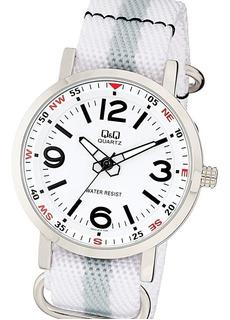 Reloj Q&q Q892j311y Q892j314y Malla Textil Nylon Watch Fan