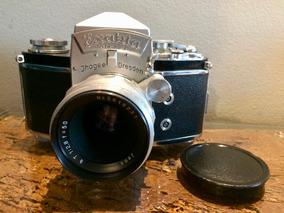 Câmera Exakta Varex Ii A Com Lente 50mm F/2.8 Revisada Ótima