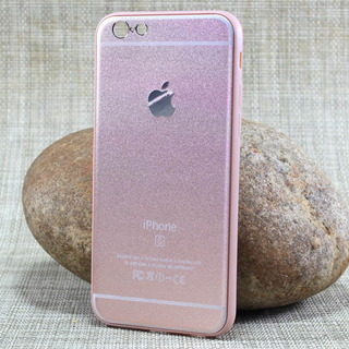 Capa iPhone 6s 6 Case Rosê / Dourada / Prateada Estilosas