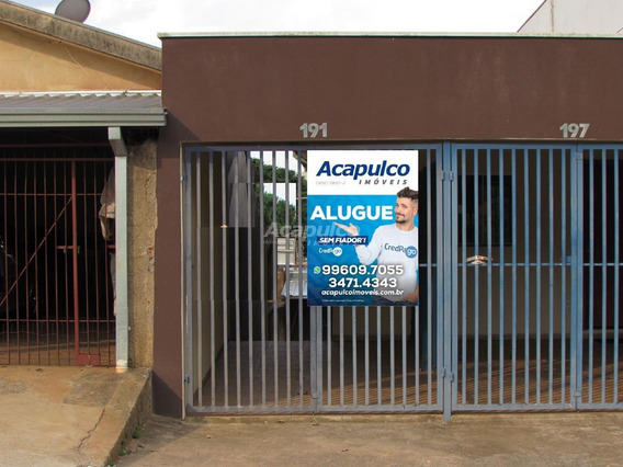 Casa Para Aluguel, 1 Quarto, 1 Vaga, Jardim Primavera - Americana/sp - 10953