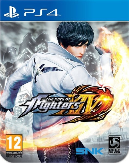 Jogo The King Of Fighters Xiv Ps4 Midia Fisica