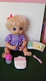 Boneca Baby Alive Linda Surpresa Fala Port C/ Falhas Rosto