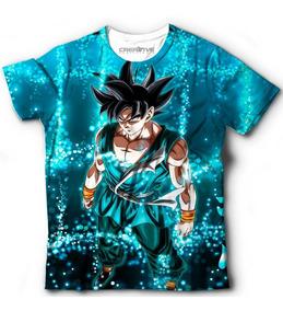 Camisa Camiseta Goku Dragon Ball Instinto Superior An-053