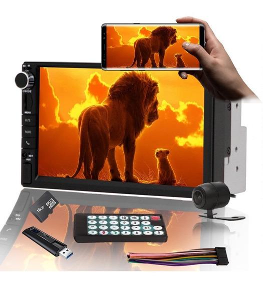 Central Multimidia Mp5 Câmera De Ré Espelhamento Android 9.0