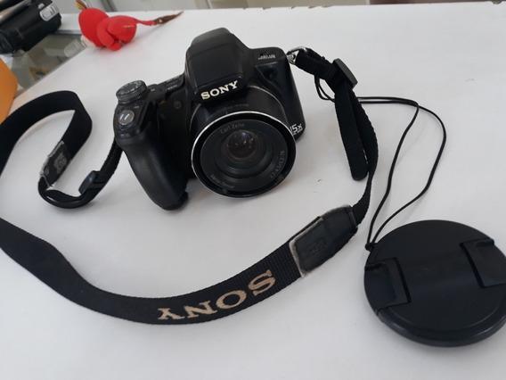 Máquina Fotográfica Sony 9.1 Mega Pra Retirar Pecas