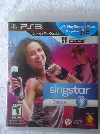Singstar Dance Ps3 ** Frete Gratis Leia