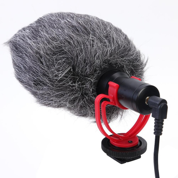 Microfone Condensador De Entrevista Microfone Com Windshield