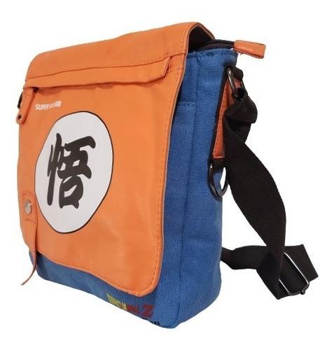 Imagen 1 de 5 de Dragon Ball Z - Bolso Hombro - Canvas + Pu, Crossbody Bag