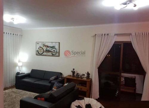 Apartamento Com 3 Dormitórios À Venda, 127 M²- Tatuapé - São Paulo/sp - Af18205