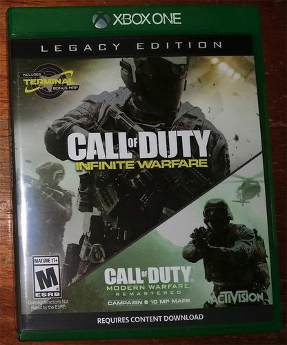Call Of Duty Infinite Warfare Y Modern Warfare Remaster