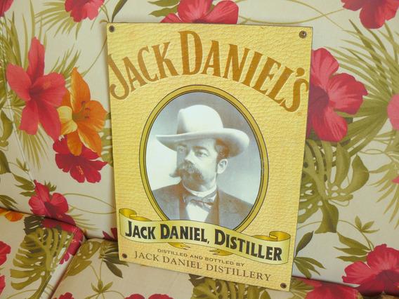 Quadro Jack Daniel, Distiller Decoração 40x30cm